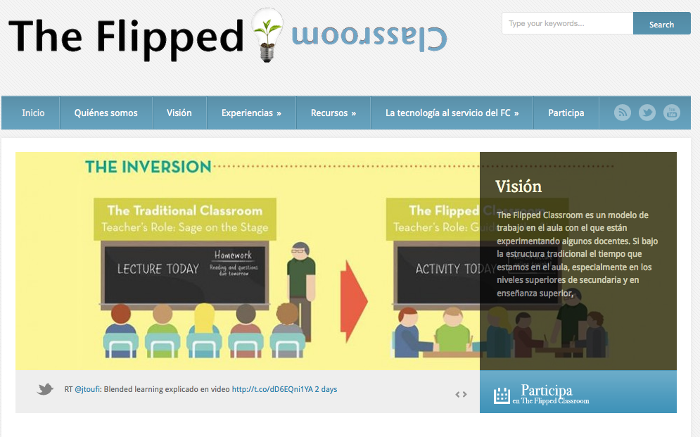 Proyecto The Flipped Classroom